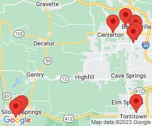 Western Union near Gentry, AR