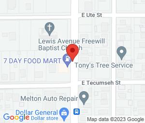 Lewis Avenue Freewill Baptist Church at Tulsa, OK 74110