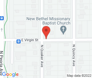 New Bethel Baptist Church at Tulsa, OK 74106