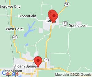 Banks near Gentry, AR