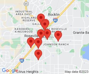 Subway near Roseville, CA