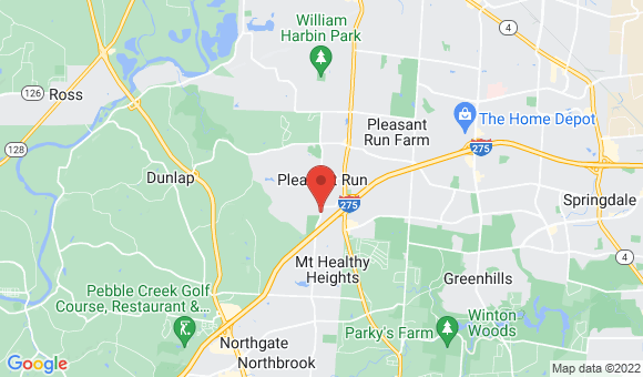 street map for Triple Creek Retirement Community - Colerain, OH