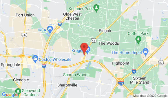 street map for Cottingham Retirement Community - Cincinnati, OH