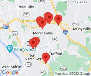 American Restaurants near Monroeville, PA