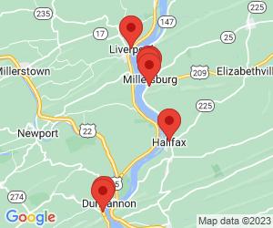 Banks near Halifax, PA