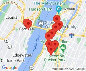 City Of New York near Fort Lee, NJ