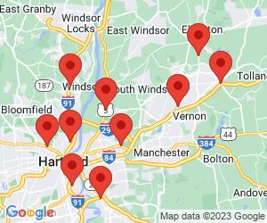 McDonald's near Manchester, CT