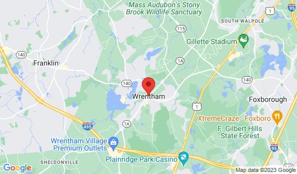street map for Serenity Hill Nursing & Rehabilitation Center   - Wrentham, MA