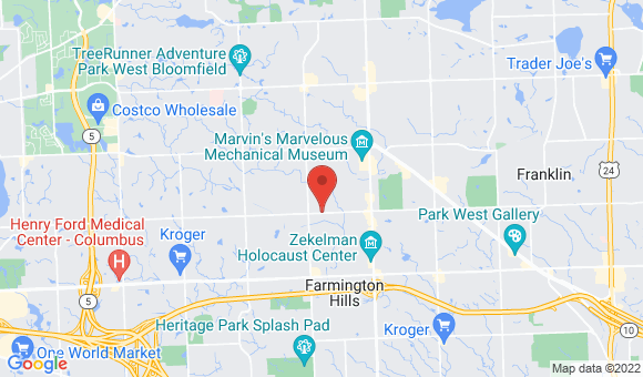 street map for Trillium HomeCare - Farmington Hills, MI