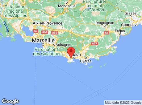CASTORAMA La Seyne sur Mer map
