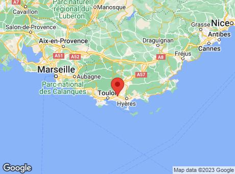 CASTORAMA Toulon La Garde map