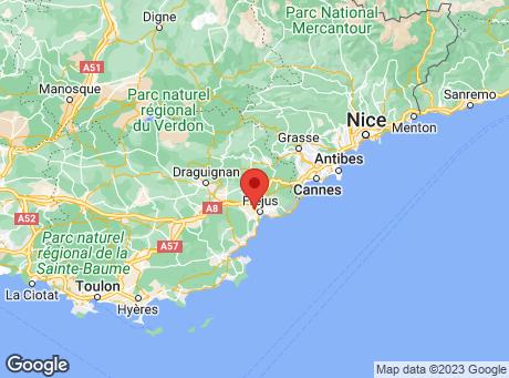 CASTORAMA Fréjus map