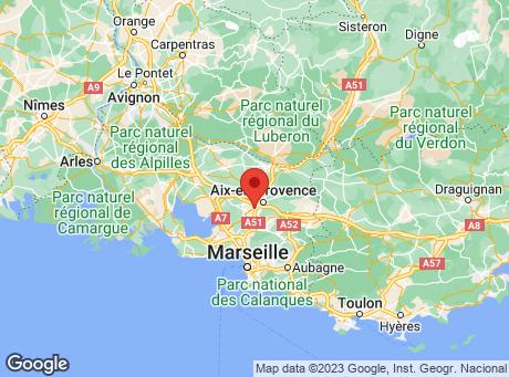 CASTORAMA Aix en Provence map