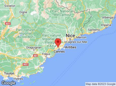 CASTORAMA Le Cannet map