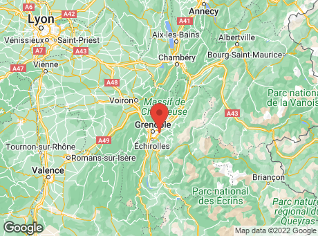 CASTORAMA Grenoble map