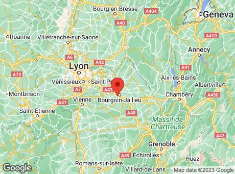 CASTORAMA Bourgoin-Jallieu map