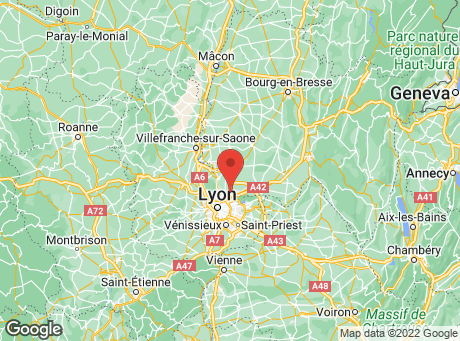 CASTORAMA Rillieux-La-Pape map