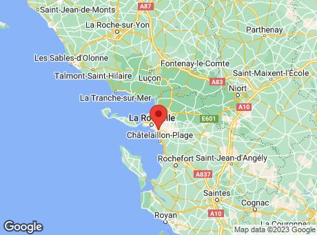 CASTORAMA La Rochelle map