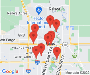 Fargo Park District near Fargo, ND