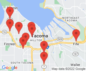 Chase ATM near Tacoma, WA