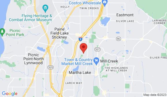 street map for FABIANS ADULT FAMILY HOME LLC - Lynnwood, WA