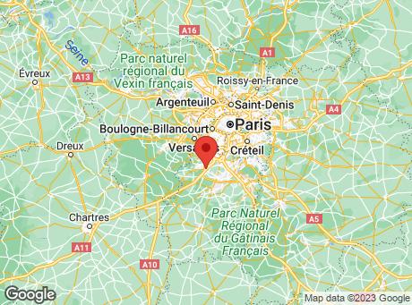 CASTORAMA Les Ulis map