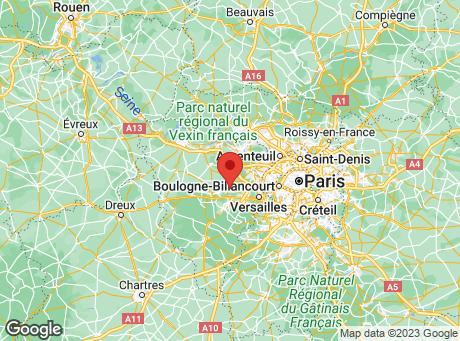 CASTORAMA Les-Clayes-Sous-Bois map