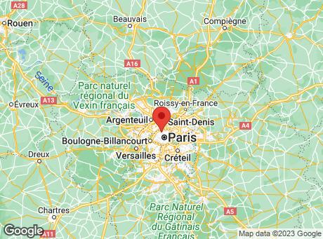 CASTORAMA Place de Clichy map