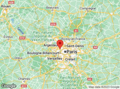 CASTORAMA La Défense map