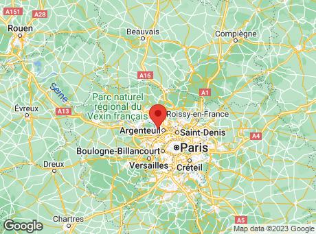 CASTORAMA Cormeilles en Parisis map
