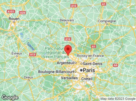 CASTORAMA Eragny map
