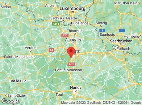 CASTORAMA Metz map