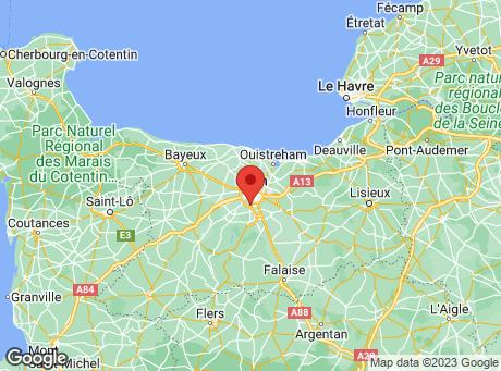 CASTORAMA Caen Fleury-sur-Orne map