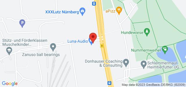 Karte zum POCO Einrichtungsmarkt Nürnberg-Ingolstädter Straße nicht verfügbar