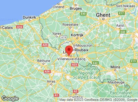 CASTORAMA Lille - Hellemmes map
