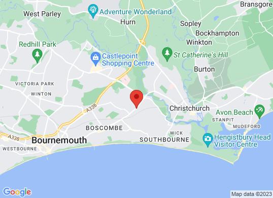 St Christophers Bournemouth Ltd's location