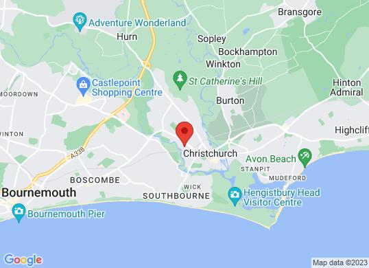 Eden Vauxhall Christchurch's location