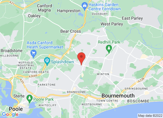 Marshall BMW Bournemouth 's location