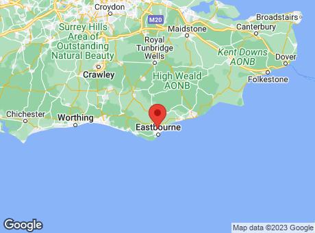 B&Q Eastbourne map