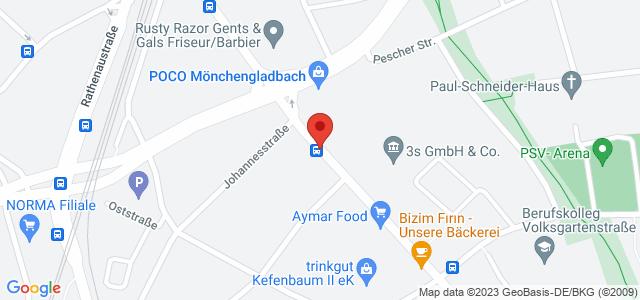 Karte zum POCO Einrichtungsmarkt Mönchengladbach nicht verfügbar