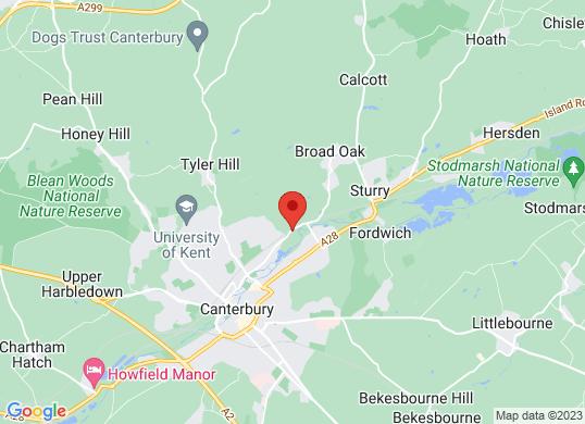 Canterbury Volkswagen's location