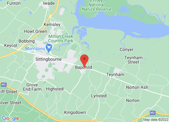 Perrys Sittingbourne Vauxhall's location