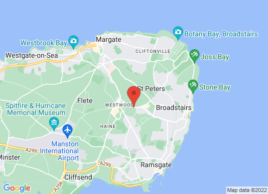 Perrys of Broadstairs's location