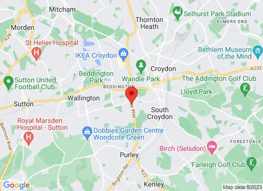 Lexus (Croydon)'s location