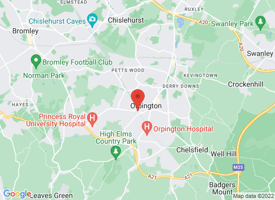 Renault Orpington's location