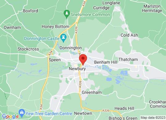 Eden Vauxhall Newbury's location