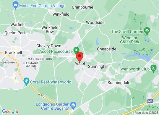McLaren Ascot's location
