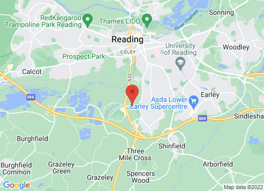 Lancaster Land Rover Reading's location