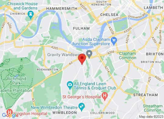 Wimbledon Park Honda's location
