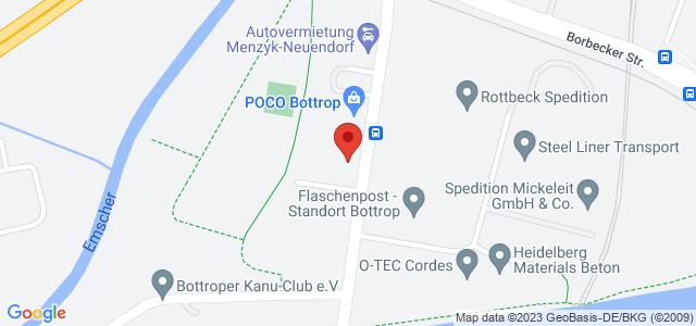 Karte zum POCO Einrichtungsmarkt Bottrop nicht verfügbar